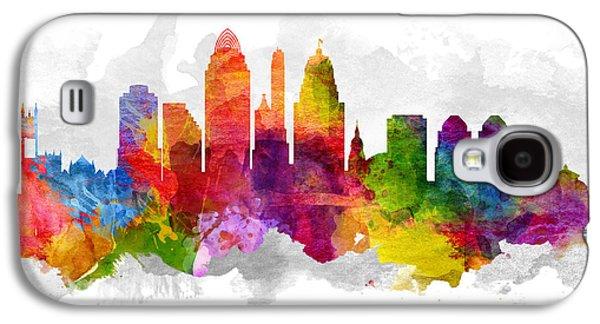 Cincinnati Ohio Cityscape 13 Galaxy S4 Case