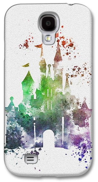Cinderella Castle 2nd Edition Galaxy S4 Case by Rebecca Jenkins