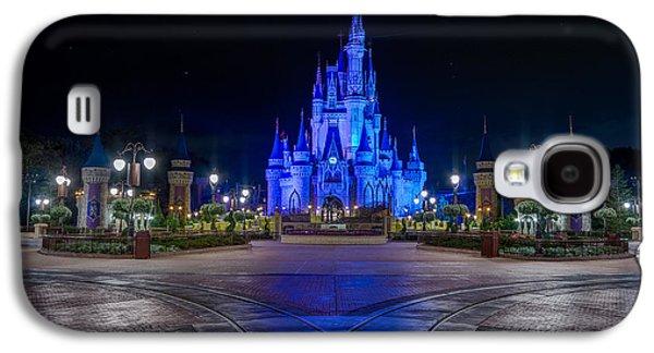 Cinderellas Castle Glow Galaxy S4 Case