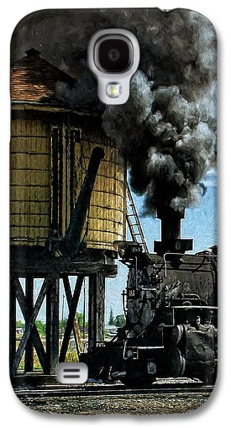 Cinders And Water Galaxy S4 Case