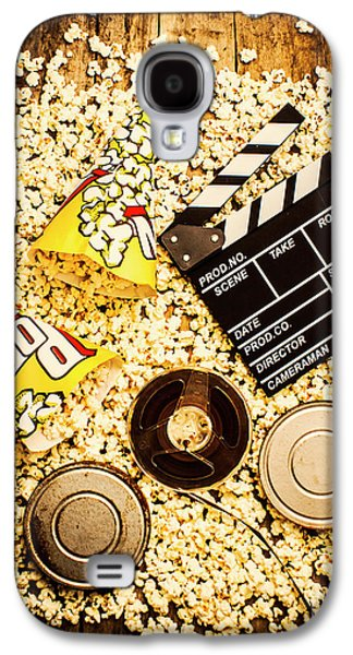 Cinema Of Entertainment Galaxy S4 Case