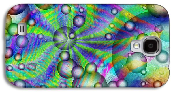 Circles And Squares Galaxy S4 Case by Jack Zulli