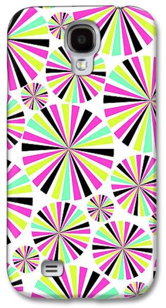 Circles Galaxy S4 Case by Louisa Knight