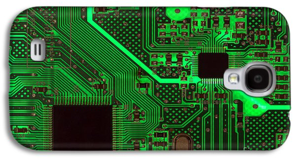 Circuitry Galaxy S4 Case by Olivier Le Queinec