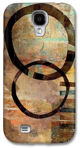 Circular Lines Galaxy S4 Case