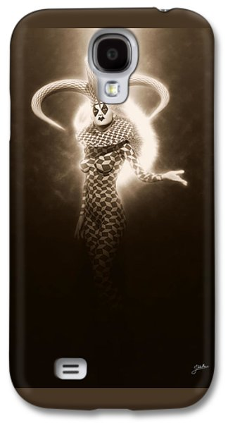 Circus Of Horrors - Light Jester Woman Galaxy S4 Case