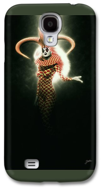 Circus Of Horrors - Mysterious Jester Woman Galaxy S4 Case