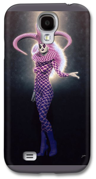 Circus Of Horrors - Super Jester Woman Galaxy S4 Case