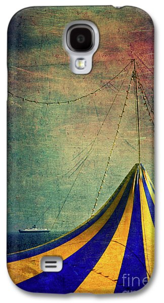 Circus With Distant Ships II Galaxy S4 Case by Silvia Ganora