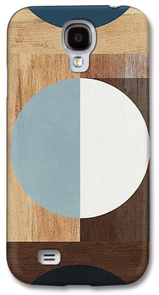 Cirkel Trio- Art By Linda Woods Galaxy S4 Case