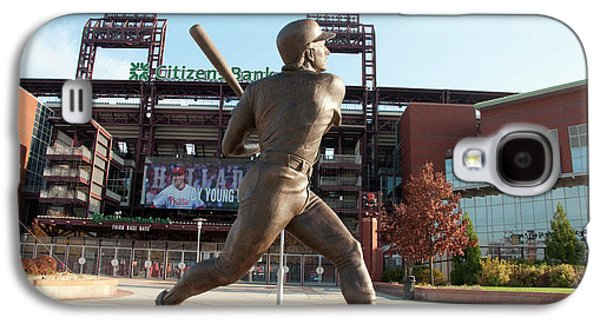 Citizens Bank - Mike Schmidt - Phillies Galaxy S4 Case by Bill Cannon