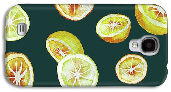 Citrus Galaxy S4 Case by Varpu Kronholm