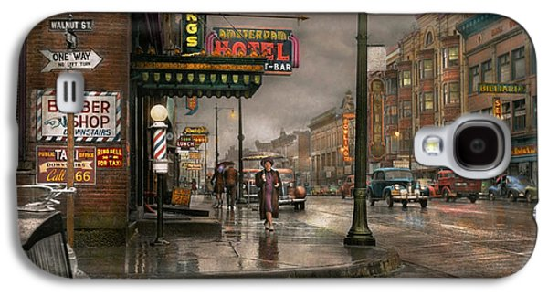 City - Amsterdam Ny -  Call 666 For Taxi 1941 Galaxy S4 Case