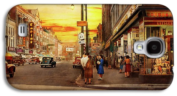 City - Amsterdam Ny - The Lost City 1941 Galaxy S4 Case by Mike Savad