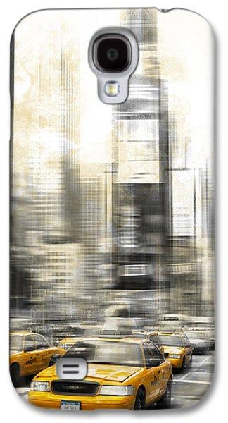 City-art Times Square Galaxy S4 Case