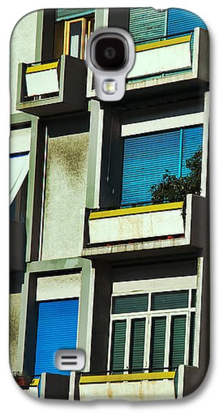 City Balconies Galaxy S4 Case by Silvia Ganora