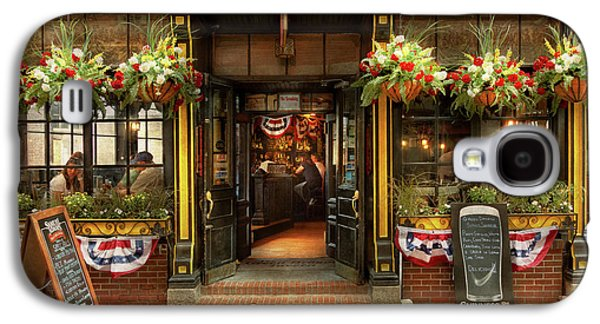 City - Boston Ma - For The Weary Traveler Galaxy S4 Case by Mike Savad