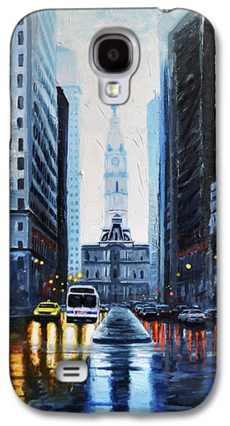 City Hall Philadelphia 2016 Galaxy S4 Case by Timothy Caison