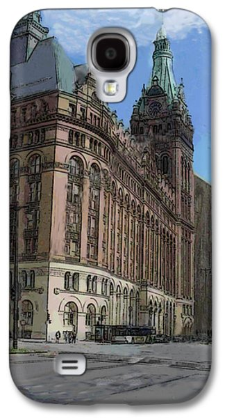 City Hall With Street Lamp Galaxy S4 Case