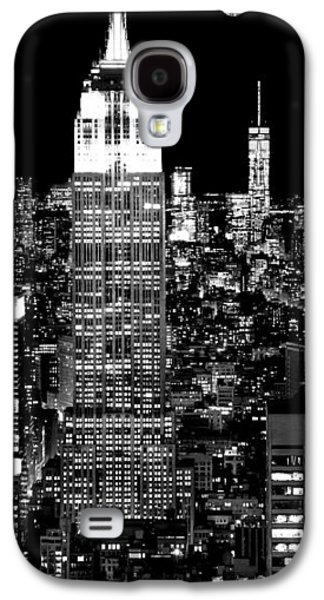 Empire State Building Galaxy S4 Case - City Of The Night by Az Jackson