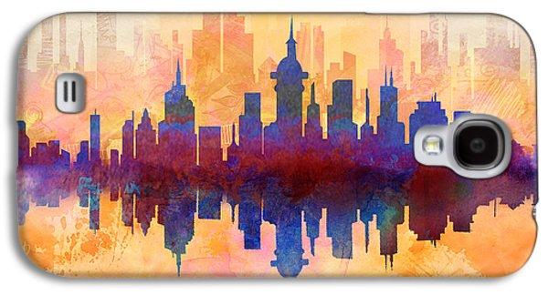 City Pulse Galaxy S4 Case by Bedros Awak