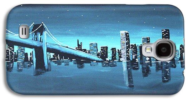 City Skyline Galaxy S4 Case by Cyrionna The Cyerial Artist