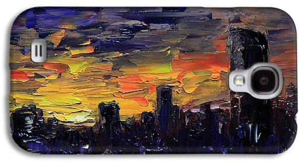 City Sunset Galaxy S4 Case