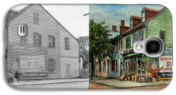 City- Va - C And G Grocery Store 1927 - Side By Side Galaxy S4 Case