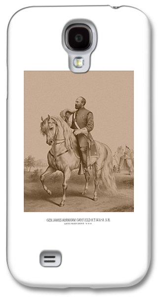 Civil War General James Garfield Galaxy S4 Case