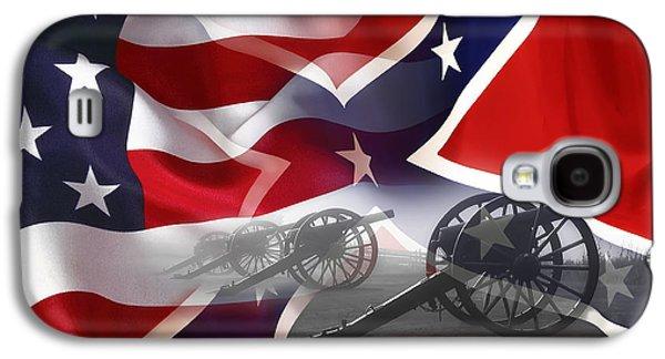Civil War Silent Cannons Galaxy S4 Case by Daniel Hagerman