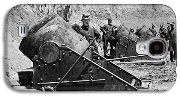 Civil War: Union Mortars Galaxy S4 Case by Granger