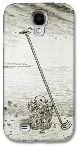 Clamming Galaxy S4 Case by Charles Harden
