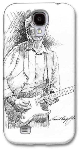 Clapton Riff Galaxy S4 Case by David Lloyd Glover