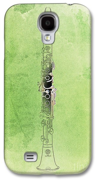 Clarinet 21 Jazz G Galaxy S4 Case by Pablo Franchi
