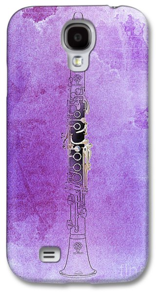 Clarinet 21 Jazz P Galaxy S4 Case by Pablo Franchi