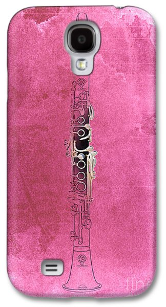 Clarinet 21 Jazz R Galaxy S4 Case by Pablo Franchi