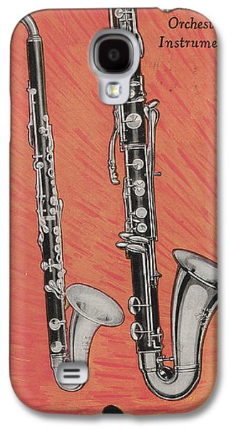 Clarinet And Giant Boehm Bass Galaxy S4 Case by American School