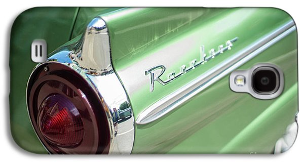 Classic 50s Ford Ranchero Galaxy S4 Case by Mike Reid