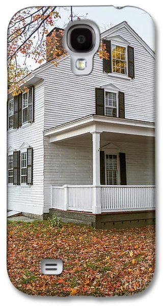 Classic Colonial Home Galaxy S4 Case by Edward Fielding