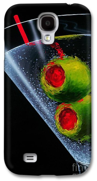 Classic Martini Galaxy S4 Case by Michael Godard