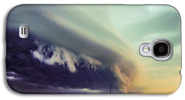 Nebraskasc Galaxy S4 Case - Classic Nebraska Shelf Cloud 024 by NebraskaSC