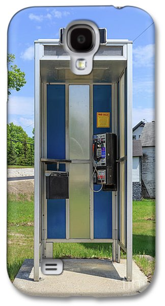 Classic Pay Phone Booth Galaxy S4 Case