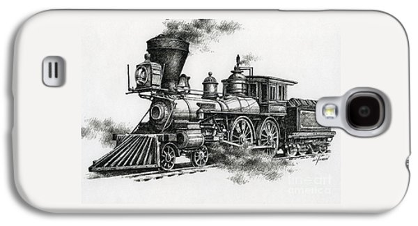 Train Galaxy S4 Case - Classic Steam by James Williamson