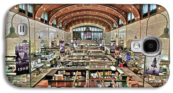 Classic Westside Market Galaxy S4 Case by Frozen in Time Fine Art Photography