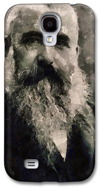Claude Monet, Artist Galaxy S4 Case by Mary Bassett