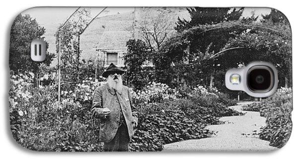 Claude Monet In His Garden Galaxy S4 Case by French School