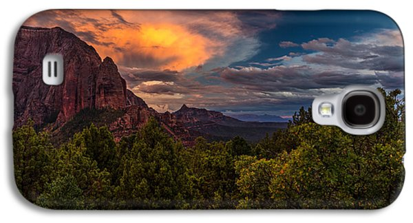 Clearing Storm Over Zion National Park Galaxy S4 Case