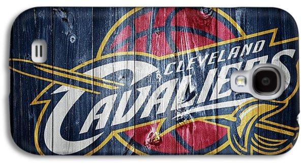 Cleveland Cavaliers Barn Door Galaxy S4 Case by Dan Sproul