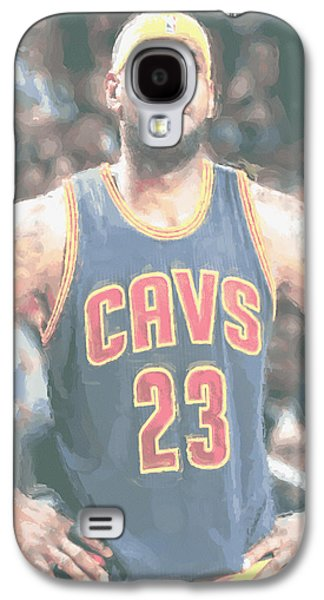Cleveland Cavaliers Lebron James 5 Galaxy S4 Case