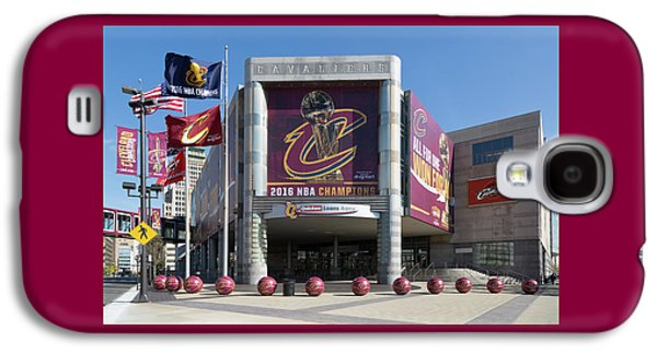 Cleveland Cavaliers The Q Galaxy S4 Case